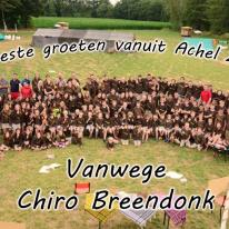 Groepsfoto's kamp 2015 - Achel